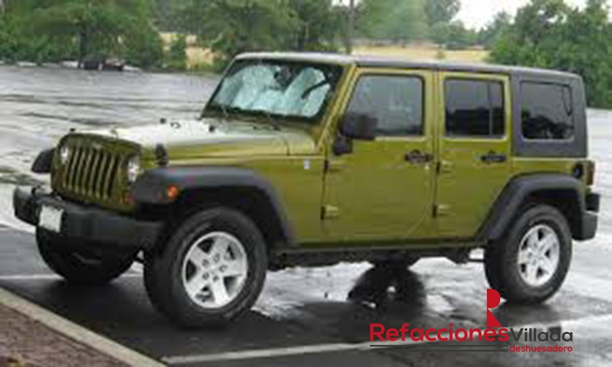 Desarmo jeep wandgler 2007 accesorios y piezas originales for Pateres originales