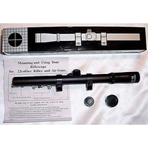 Mira Telescopica 4 X 20 Rifle Ballesta Co2 Etc