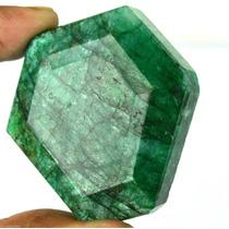 Esmeralda Natural Enorme Corte Hexagonal Pieza Unica!