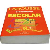 Diccionario Larousse Escolar 970-607-010-9 Pasta Roja