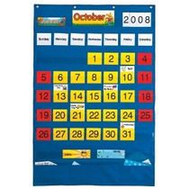 Calendario Tabla De Bolsillo - Inglés / Español