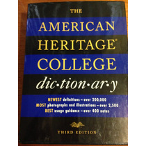 The American Heritage College Dic-tion-ar-y