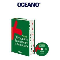Nuevo Diccionario Océano De Sinónimos Y Antónimos 1 Vol 1cd