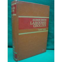 Diccionario Moderno Larousse Grolier Español-inglés.