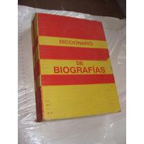 Libro Diccionario De Biografias , Terranova Editores , Año 1