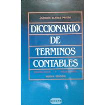 Diccionario De Terminos Contables 400 Paginas Joaquin Blanes