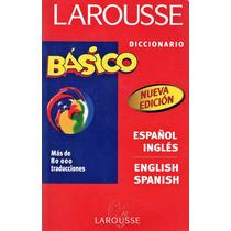 Diccionario Larousse Inglés - Español - Inglés Envío $30 Ok