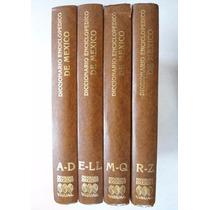 Gran Diccionario Enciclopédico De México Visual. 4 Tomos
