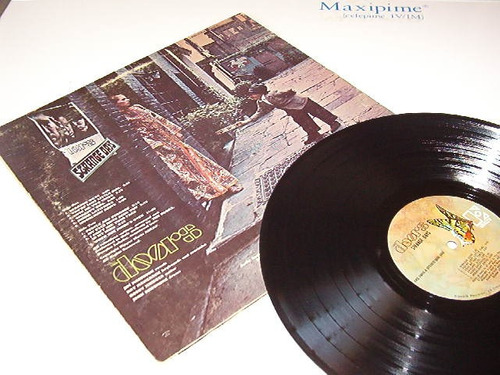 Disco Lp De The Doors / Strange Days (primera Edición Usa)