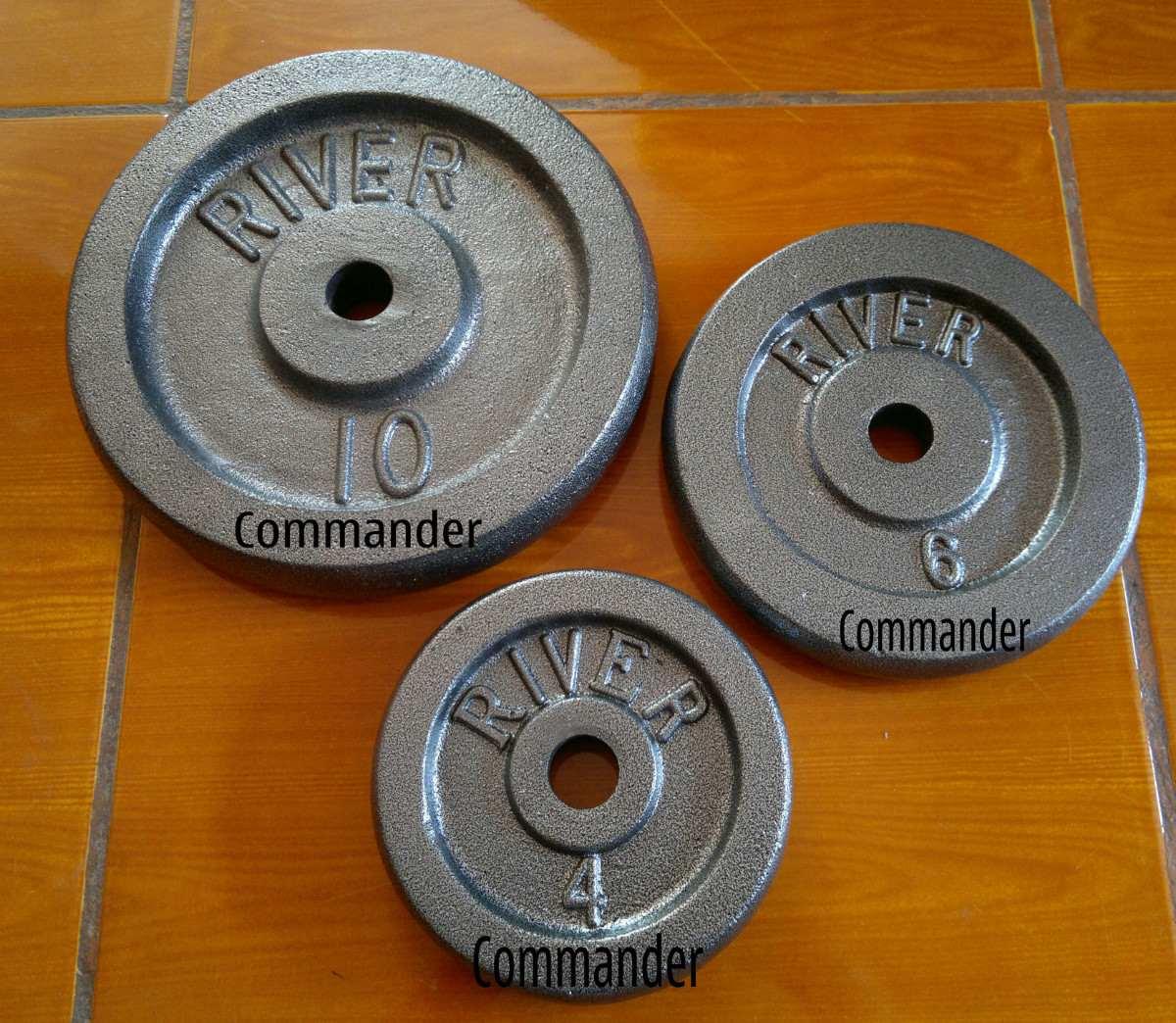 Disco standar para pesas y mancuernas en for Pesas y mancuernas