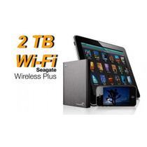 Seagate® Disco Duro Wi Fi Wireless Plus 2 Tb Iphone Ipad