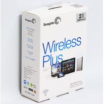 Seagate® Wireless Plus 2 Tb Disco Duro Wi-fi Iphone Ipad
