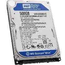 Disco Duro Hdd Interno 500gb Sata Para Laptop 2.5 A 12 Meses