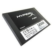 Disco Ssd Kingston Solido 120gb Hyperx Fury Sata3 Pc 12x