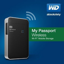Disco Duro Externo Inalambrico Wd 2tb Wireless Wifi Passport