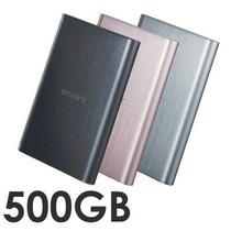 Disco Duro Externo 500 Gb Sony Usb 3.0 Negro,plata, Rosa