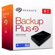 Disco Duro Externo Seagate Backup Plus 5tb Usb 3.0 Xbox One