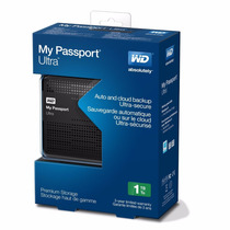 Disco Duro Externo Portatil Wd My Passport Ultra 1tb Usb 3.0