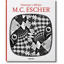 Libro M. C. Escher Estampas Y Dibujos Pasta Dura 96 Pags.