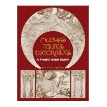 Libro Muchas Figures Decoratives, Alphonse Marie Mucha Pb!