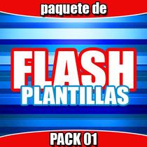 Plantillas Flash, Templates Flash Diseños Varios Pack 01