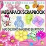 Megapack Scrapbook + De 20,000 Imagenes + Regalos