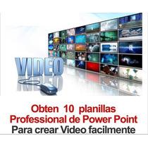 5 Planillas Profesionales Para Crear Increibles Videos Promc