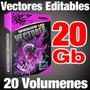 Super Mega Coleccion De Vectores Editables 20 Gigas Preciazo