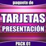 Gran Paquete De Plantillas Tarjetas De Presentación Pack 01