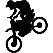 Vectores De Motos Chopper Vector Motocross Vector Silueta