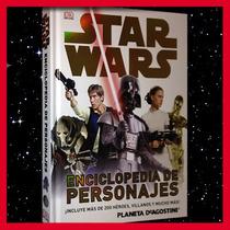 Star Wars Enciclopedia De Personajes En Español, A Color