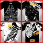 Paquete Vectores Star Wars Serigrafia, Separacion De Color