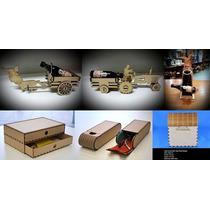 Vectores Corte Laser- + 150 Diseños Encastrables Unico Wow !