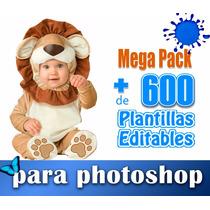 Templates Psd +d 600 Fotomontajes Infantiles Para Photoshop