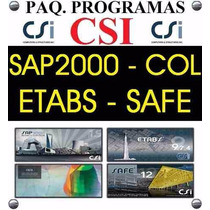 Paq Csi Sap2000 15 Etabs Safe Col - Videos. Ingenieria Civil