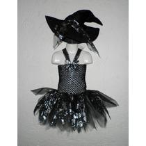 Nuevo Dress Vestido Tutu Bruja Hallowen Pirata Dia Muertos