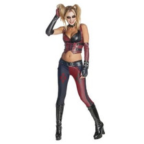 Disfraz De Harley Quinn Arkham City Secrets Wishes, Batman