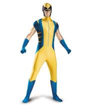 Disfraz Wolverine X Men Adulto Hombre Version Lujo Talla Xxl