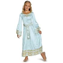 Disfraz Princesa Aurora Malefica Niña Talla 10 A 12 Años