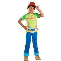 Disfraz Disney Handy Manny Niño Talla 2 Años Y (4 A 6 Años)