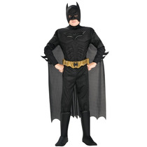 Disfraz Traje De Dark Knight Batman Tamaño Adulto Mediano