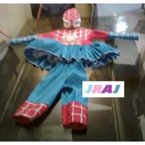 Disfraz De Spiderman De Niña