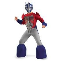 Disfraz Optimus Prime Transformers Niño 7/8 Años + Regalo
