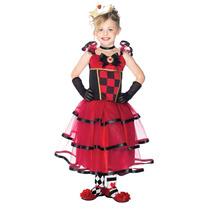 Vestido Reina De Las Maravillas Disfraz Niña Leg Avenue Mmn