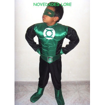 Disfraz Linterna Verde Batman Spider Man Hombre Araña Hulk