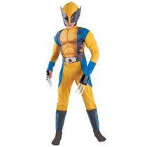 Disfraz Wolverine Original Talla 7/8 Años Entrega Inmediata