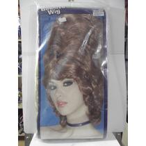 Dr.veneno Disfraz Peluca Beehive Wig Forum Blonde Adultos