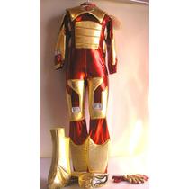 Disfraz Iron Man 3 Avengers Con Luz Y Mascara