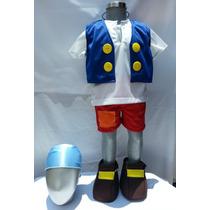 Disfraz Tipo Cubby De Jake Y Los Piratas Incluye Espada