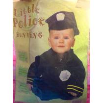 Disfraz De Policia Para Bebes De 0 A 8 Meses